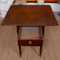 Georgian Dropleaf Pembroke Table Mahogany (6 of 12)