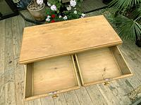 Superb & Large Old Pine Chest of Drawer / Sideboard (6 of 8)