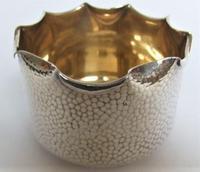 Attractive Arts & Crafts silver plated cream & sugar set (8 of 8)