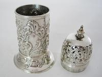 Decorative Victorian Lighthouse Shaped Silver Sugar Caster (2 of 5)