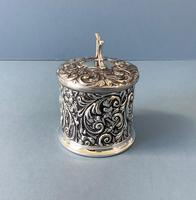 Antique Edwardian Silver String or Twine Box (3 of 4)