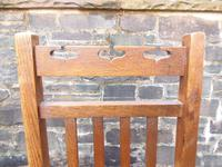 Pair of Arts & Crafts Scottish Chairs by E.A.Taylor (5 of 10)