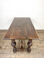 Antique Country Oak Dining Table (9 of 10)