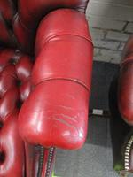 Chesterfield Revolving Leather Directors Chair (3 of 4)