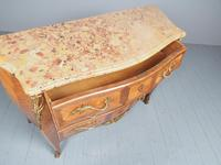 French Louis XV Style Marble Top Commode (11 of 13)