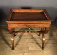 Stunning French Charles X Walnut Library Writing Table (13 of 16)