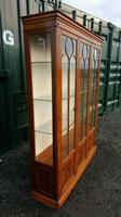 Reprodux bevan funnell yew wood display cabinet (2 of 8)