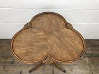 Antique Mahogany Tripod Side Table (5 of 9)
