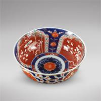Late 19th Century Japanese Imari Pattern Bowl (2 of 3)