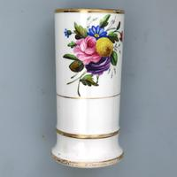 Regency Spode Porcelain Hand Painted Spill Vase Pat 1943 c.1810 (4 of 5)
