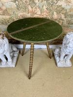 19th Century Gypsy Table With Gilt Legs (3 of 5)