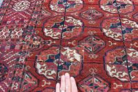 Antique Tekke Turkman rug 190x137cm (3 of 6)