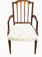 Set of Eight Fabulous Quality Edwardian Mahogany Dining Chairs (5 of 6)