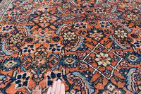 Antique Mahal carpet 369x262cm (3 of 10)