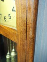 English Art Deco Longcase Clock Musical 8 Day Westminster Chime Grandfather Clock (12 of 12)