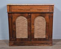Antique Regency Rosewood Marble Top Chiffonier Side Cabinet (2 of 3)