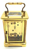 Classic Antique French 8-day Carriage Clock Timepiece c.1890 - L Epee & Camerer Cuss (6 of 10)