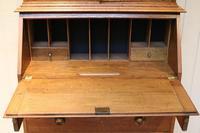 Arts & Crafts Oak Bureau Bookcase (6 of 11)