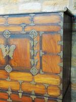 Chinese Elm Marriage Cabinet Circa 1900 (8 of 12)