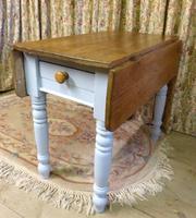 Antique Pine Folding Pembroke Kitchen Table (5 of 5)