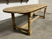 Large Rustic French Farmhouse Dining Table (2 of 18)