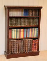 Oak Open Bookcase (10 of 11)