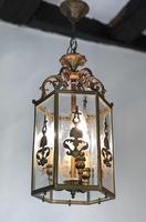 Antique French Gilt Bronze Lantern (5 of 13)