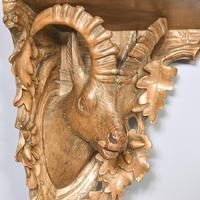 Black Forest Carved Limewood Wall Bracket (3 of 5)