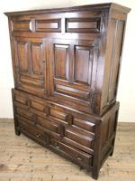 Large 18th Century Welsh Oak Hanging Cupboard (3 of 16)