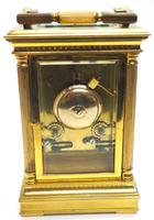 Fine French Repeat Carriage Clock with Foliate Carved Decoration By Charles Frodsham London (9 of 12)