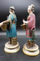 Charming Pair of Early 20th Century Meissen Figures in Oriental Garb (4 of 9)