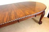 Wonderful Antique Victorian Mahogany Extending Dining Table (8 of 15)