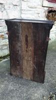 Carved Oak Wall Cupboard (5 of 8)