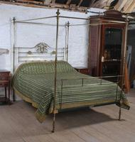 Winfield All Brass King Size Four Poster Bed