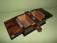 Macassar Ebony Jewellery / Trinket / Cigar Box c.1900 (8 of 11)