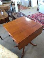 Victorian Mahogany Pembroke Table with Two Drawers (3 of 7)