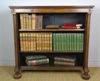 Handsome Rosewood Dwarf Bookcase c.1835