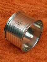 Antique Sterling Silver Hallmarked Napkin Ring 1921 E S Barnsley & Co (2 of 8)
