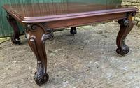 Very Large Victorian Extending Dining Table in Mahogany (15 of 17)