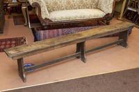 Oak Form Bench