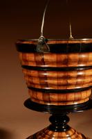 Dutch Coopered Tea Stove Bucket / Peat Bucket / Jardinière (6 of 7)