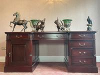 Large Georgian Style Double Sided Partners Desk (2 of 51)