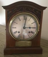 Edwardian High Quality Eight Day Striking Bracket Clock (2 of 11)