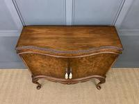 Serpentine Fronted Burr Walnut Cupboard (3 of 11)