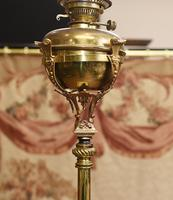 Antique Gilt French Floor Lamp Table (4 of 12)
