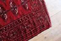 Vintage Handmade Persian Turkoman Rug (7 of 12)