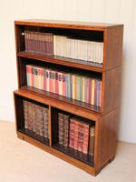 Minty Art Deco Open Bookcase (3 of 10)