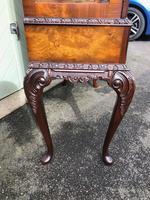 Antique Burr Walnut Display Cabinet (7 of 10)