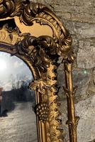 Large Victorian Gilt Overmantel Mirror (15 of 20)