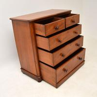 Antique Victorian  Mahogany Chest of Drawers (9 of 10)
